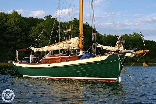 Used Crosby 28 Cutter Sailboat For Sale