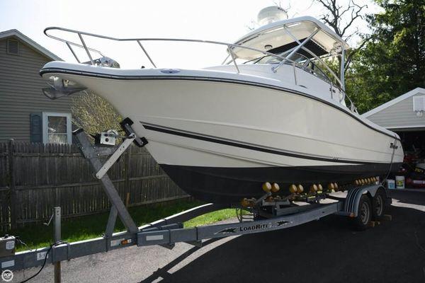 Used Triton 2690 Walkaround Fishing Boat For Sale
