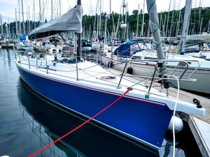 Used Robert Perry Custom Boomer Day Sailor Sloop Sailboat For Sale