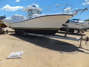 Used True World Marine Te288 W Trailer Center Console Fishing Boat For Sale