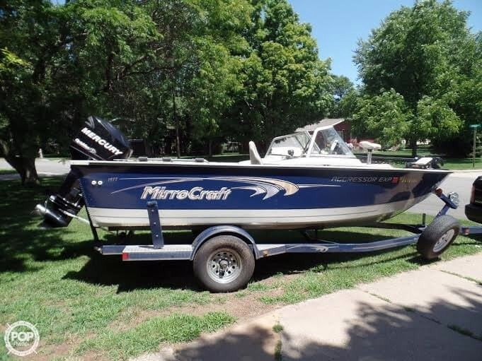 2008 used mirrocraft 1977 aggressor exp aluminum fishing for Used aluminum fishing boats