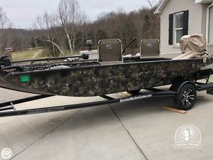 Used Excel F4 1754 Aluminum Fishing Boat For Sale