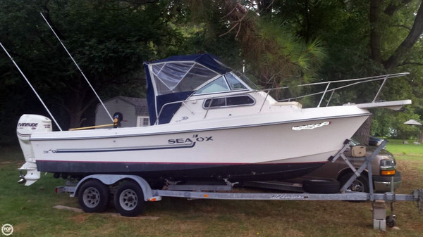 Used Sea Ox 230 C Walkaround Fishing Boat For Sale
