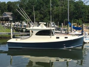 Used Calvin Beal 28 Downeast Fishing Boat For Sale