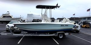 Used Sea Pro 190 Center Console With 4 Stroke 115 And Trailer Center Console Fishing Boat For Sale