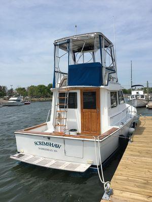 Used Cape Dory 30 Flybridge Hardtop Trawler Boat For Sale