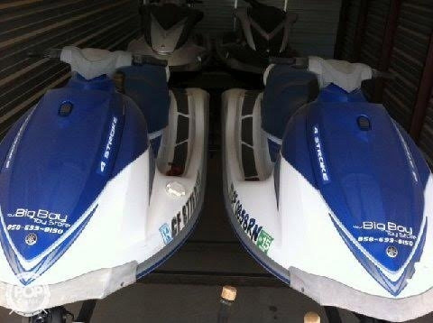 Used Yamaha 3 2007 & 1 2008 (package of 4) PWC Personal Watercraft For Sale