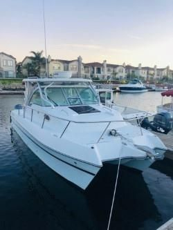 Used Glacier Bay 2770 Isle Runner Power Catamaran Boat For Sale