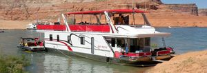 Used Sumerset Red Rocks Trip 15 House Boat For Sale
