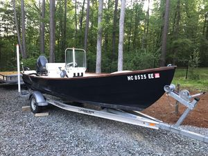 Used Holby Bristol Skiff Center Console Fishing Boat For Sale