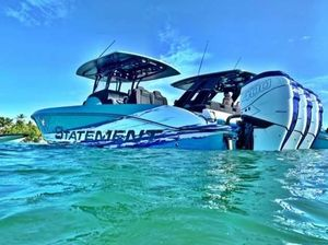 Used Statement 38 Center Console Fishing Boat For Sale