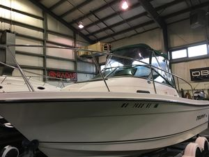 Used Trophy 2002 Walkaround Center Console Fishing Boat For Sale