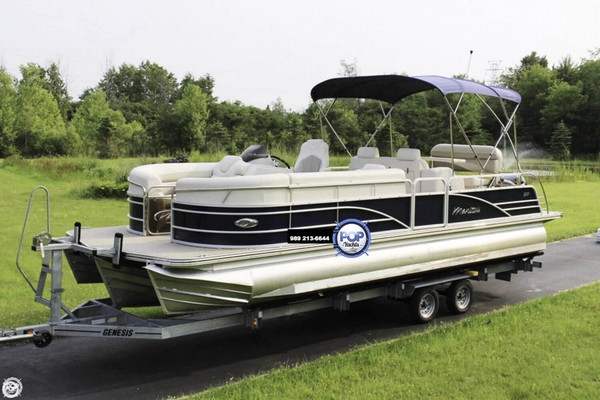 Used Manitou SES 25 SHP Pontoon Boat For Sale