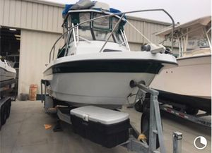 Used Davis Cortez Saltwater Fishing Boat For Sale