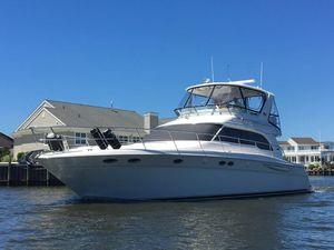 Used Sea Ray 480 Sedan Bridge Motor Yacht For Sale