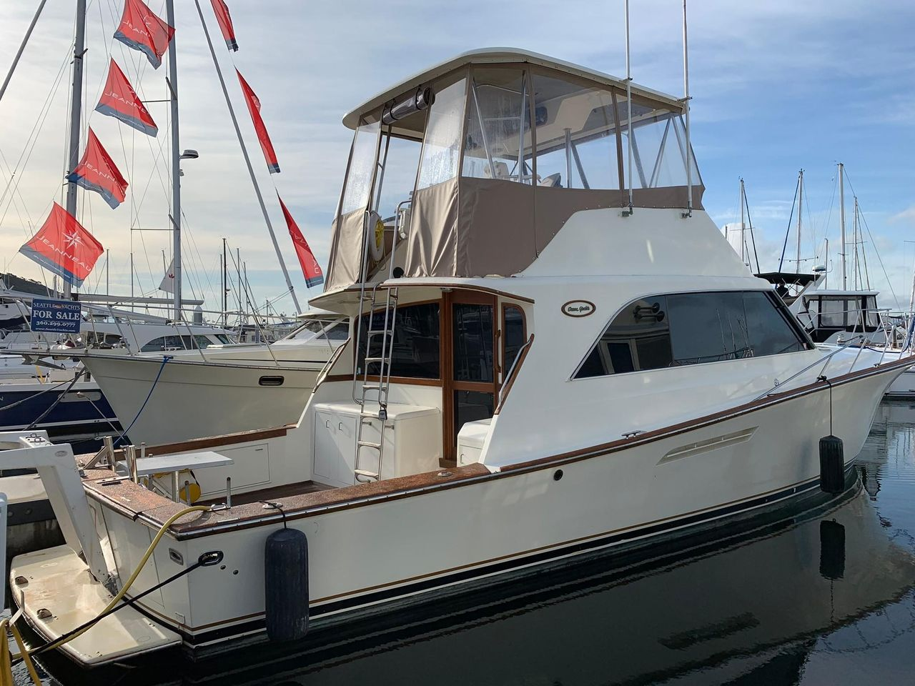 1987 Used Ocean Yachts 48 Sports Fishing Boat For Sale - $169,000