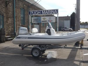 Used Grand 370 Silverline Rigid Sports Inflatable Boat For Sale