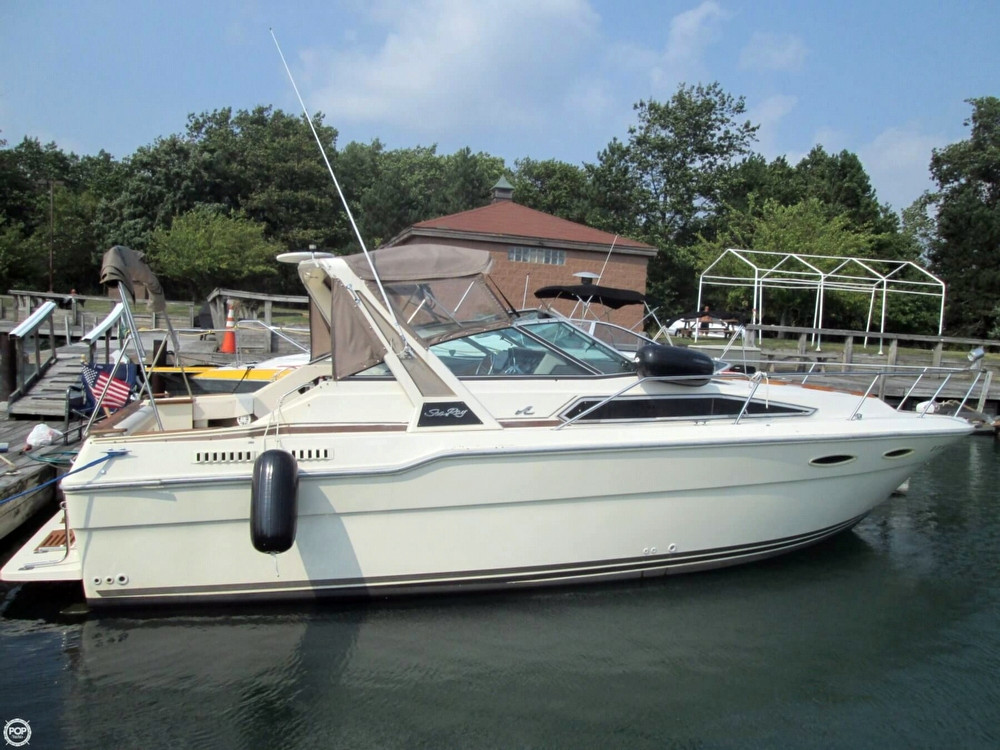 1986 Used Sea Ray 300 Sundancer Express Cruiser Boat For