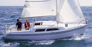 Used Catalina 250 Cruiser Sailboat For Sale