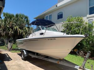 Used Boston Whaler 205 Eastport Freshwater Fishing Boat For Sale