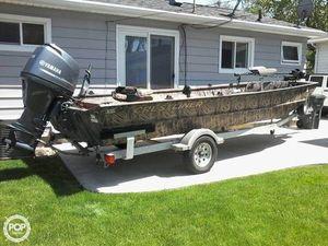 Used Crestliner 2070 Retriever Jon Aluminum Fishing Boat For Sale