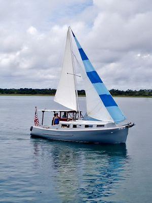 Used Custom Motorsailer Sailboat For Sale