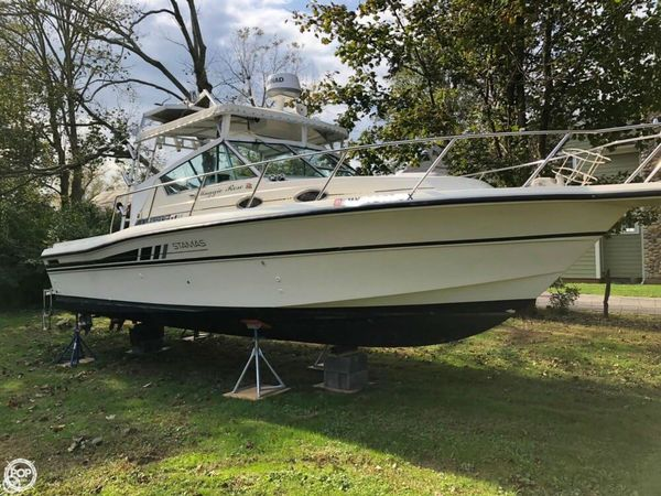 Used Stamas 288 Liberty Walkaround Fishing Boat For Sale