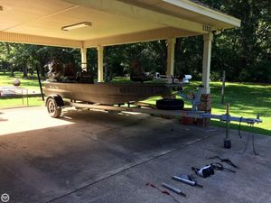 Used Gator Tail GTB 1848 Tall Transom Aluminum Fishing Boat For Sale