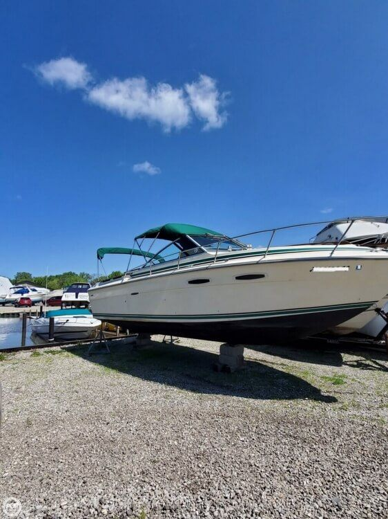 Used Sea Ray 255 Amberjack Express Cruiser Boat For Sale