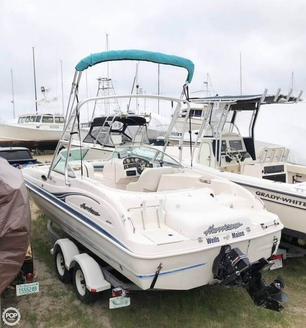 Used Hurricane SD 237 Deck Boat For Sale