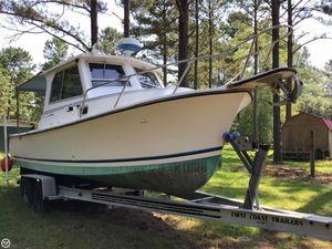 Used Shamrock 260 Mackinaw Pilothouse Boat For Sale