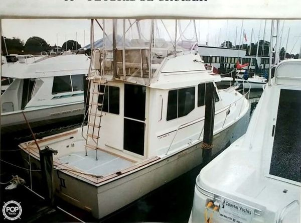 Used Cape Dory 33 PY Downeast Fishing Boat For Sale