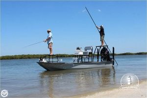Used Bossman Xtreme 20 Flats Fishing Boat For Sale