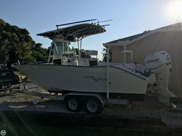 Used Cape Horn 24 OffShore series Center Console Fishing Boat For Sale