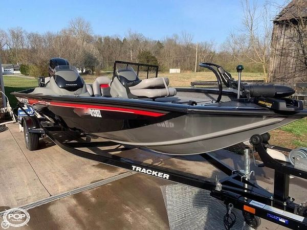 Used Tracker 190 TX Team Pro. Bass Boat For Sale