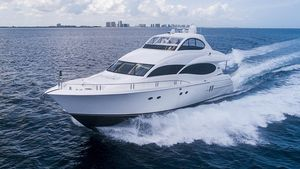 Used Lazzara 80 Open Bridge Motor Yacht For Sale
