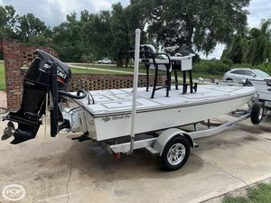 Used Custom Thread Fin Custom 17 Flats Fishing Boat For Sale