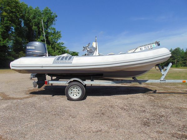 Used Novurania 430dl Tender Boat For Sale