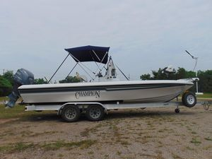 Used Champion Bay Champ 24 Center Console Fishing Boat For Sale