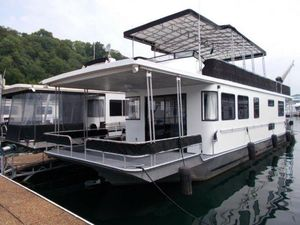 Used Lakeview 14 X 60 Houseboat House Boat For Sale