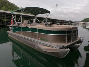 Used Berkshire 233rfx STS Pontoon Boat For Sale