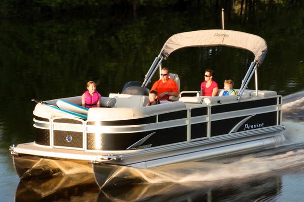 Used Premier 220 Sunsation 11682 Pontoon Boat For Sale