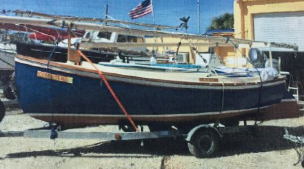 Used Custom Sun Cat Daysailer Sailboat For Sale