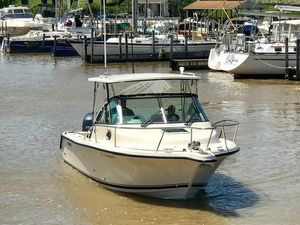 Used Pursuit 255 Offshore Freshwater Fishing Boat For Sale
