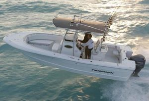 Used Triumph 235 CC Saltwater Fishing Boat For Sale