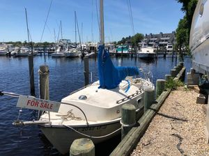 Used Sailboat Wing ON Wing Sloop Cuddy Cabin Boat For Sale
