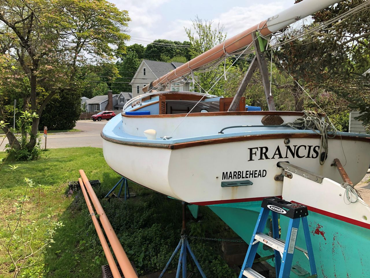 1969 Used Marshall 22 Cruiser Sailboat For Sale - $19,000