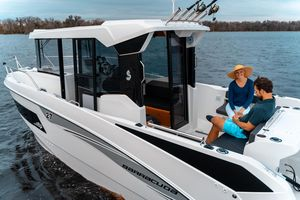 Used Beneteau Barracuda Saltwater Fishing Boat For Sale