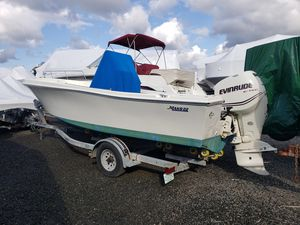 Used Mako 22' Center Console Fishing Boat For Sale