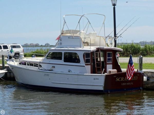 Used Egg Harbor 37 Vintage Motor Yacht Cruiser Boat For Sale